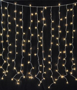 Curtain Of String Lights : Incandescent Twinkle Curtain Light