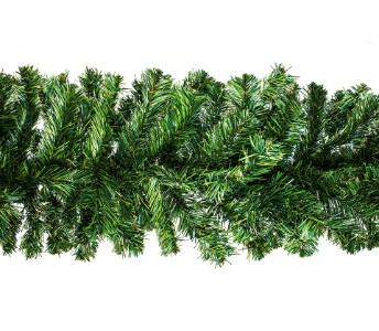 WL-GARPN-09-9' Green PVC Pine Garland with 200 tips