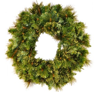 WL-GWBM-02;  2' Blened Pine Wreath