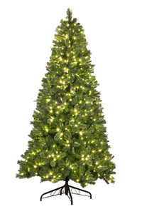 WL-TRBM-12-LWW - Prelit 12' UV Mixed Pine Blend Tree 3,567 tips Lit with 1300 Warm White LED