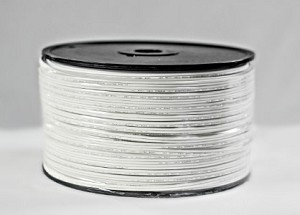 ZIPCORD-1000-18W - 1000' spool of SPT-1 White Zipcord
