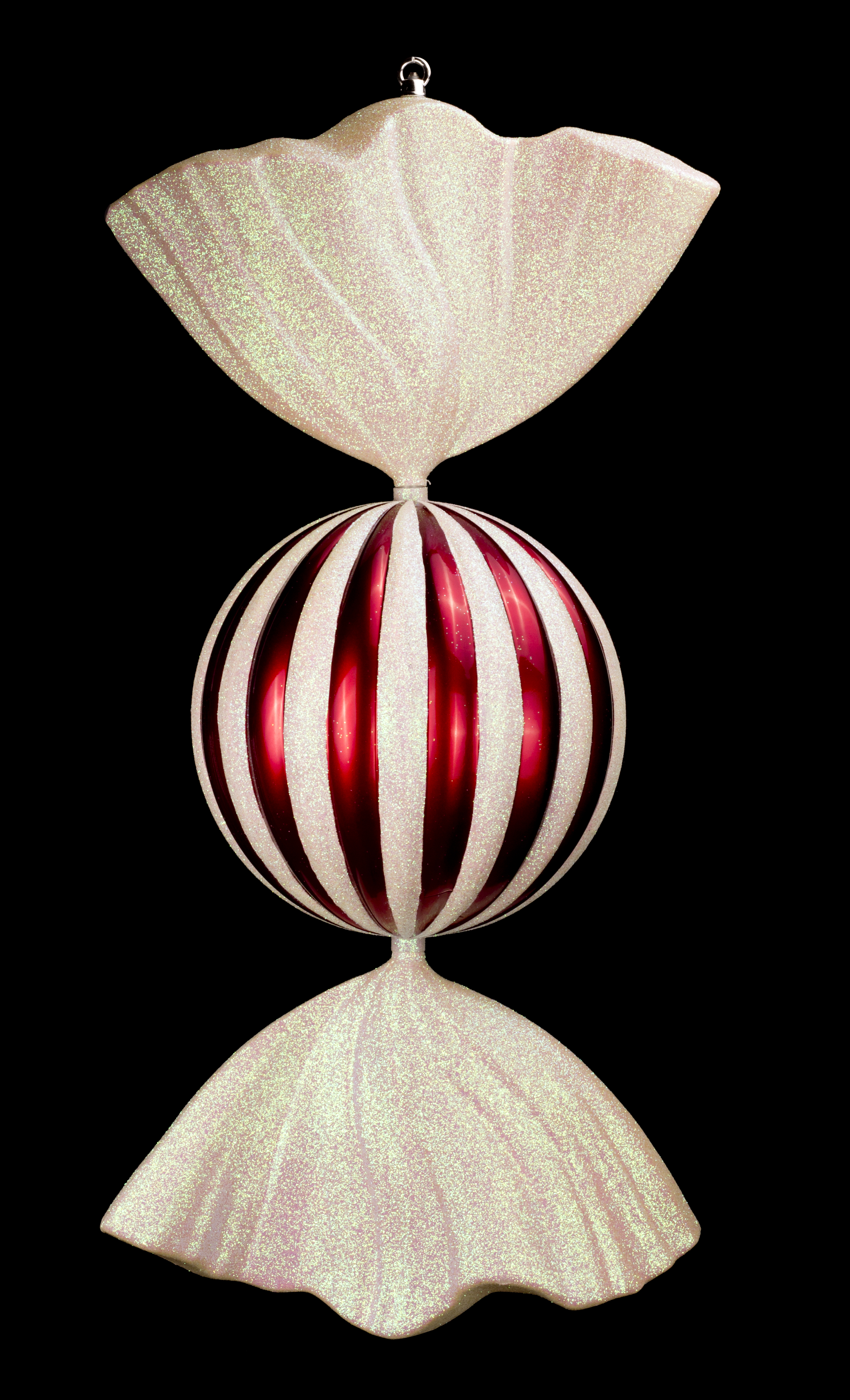 Round Peppermint Candy Ornament 34