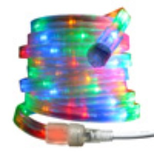 10MM 18' Spool of Multi Colored LED Ropelight