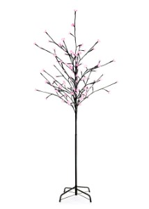 Pink Cherry 6' Tree with 108 LEDs