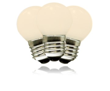 Sun Warm White G40 Commercial Frosted Retrofit bulb