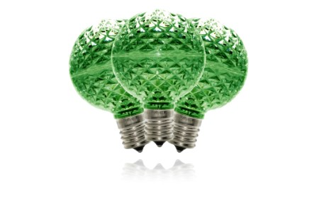 Green G50 Dimmable Replacement Bulbs