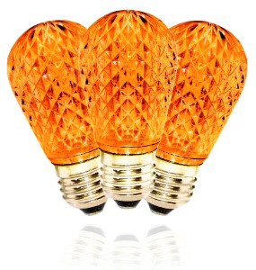 Dimmable Orange / Amber T50 LED Replacement Bulb