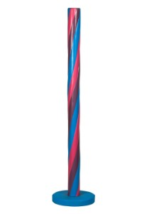 Purple, Blue, and Pink 5' Candy Stick