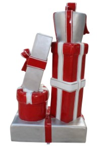 Candy Collection C Gift Stack Red and White