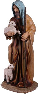 Life Size Nativity 6' Shepherd
