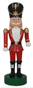 12' Polyresin Nutcracker