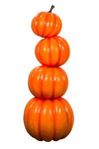 Stack of 4 Pumpkins 6'