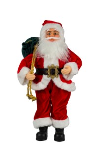Santa with Toy Bag 18