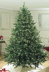Pre-Lit 12' UV Sequoia Tree with Pure White LED