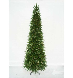 Classic 12' Slender Sequoia Tree with Metal Stand