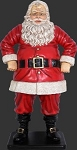 4' Tall Jolly Santa