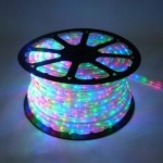12 Volt 150' spool of 10MM Multi Colored LED Ropelight