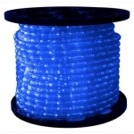 150' Spool of Blue LED Ropelight 10MM