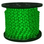 150' Spool of Green LED Ropelight 10MM