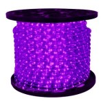 10MM 150' Spool of Purple LED Ropelight