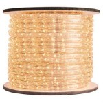 150' Spool of Warm White LED Ropelight 10MM