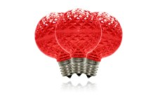Red G50 Dimmable Replacement Bulbs