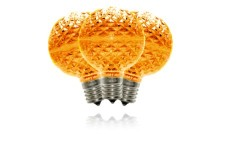 G50 Orange Commercial Grade Retrofit Bulbs