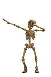 DABBING SKELETON 12'
