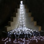 Pure White LED Waterfall Lights