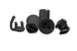 100 Pack Replacement E17 C9 Black Sockets