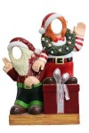 Crazy Elves with Gift Box Photo Ops