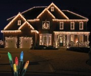 Standard Grade M5 Multi Colored Icicle LED Light Set