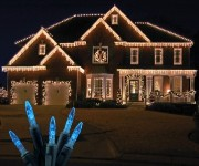 Standard Grade M5 Blue Icicle LED Light Set