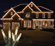 Standard Grade M5 Warm White Icicle LED Light Set