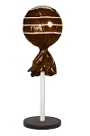 Brown 5' Tootsie Pop with Base