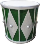 Green and Silver 2' Drum