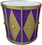 Purple and Gold 2' Drum