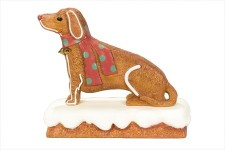 Gingerbread 2.75' Dog