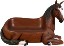 Bench of Brown Horse