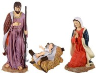 Holy Family Life Size Nativity