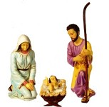 3 Piece Holy Family 38