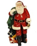 5' Santa with Toy Bag