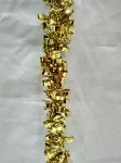 Gold Metallic 100' Tinsel Garland