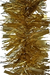 50' TINSEL GARLAND GOLD