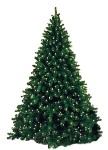 Artificial 6' Natural Looking Tree Pre-Lit with Warm White LEDs