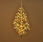 2' GOLD WALL MOUNT LED TREE