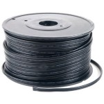 Spool of 500' SPT-1 Black Zipcord