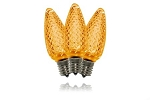 Orange C9 Dimmable LED Retrofit Bulb