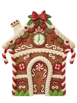 Gingerbread House Panel 8'