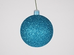 Aqua Christmas Ornaments